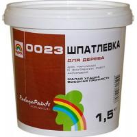 """Шпатлевка для деревянных изделий """"Радуга- 0023"""""""